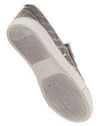 Steve Madden - Metallic Ecentrcq Slip-On Sneakers - Lyst