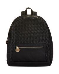 Deux Lux | Chevron-woven Backpack-black | Lyst