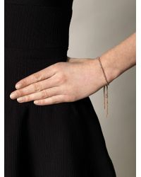 Carolina Bucci - Metallic Rose Gold Lucky Bracelet - Lyst