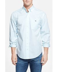 Vineyard Vines | Blue 'tucker - Tiverton Check' Classic Fit Sport Shirt for Men | Lyst