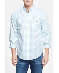 Vineyard Vines | Blue 'tucker - Tiverton Check' Classic Fit Sport Shirt for Men | Lyst