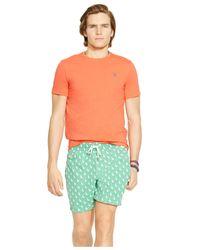 Polo Ralph Lauren - Green Traveler Sailboat-print Swim Short for Men - Lyst