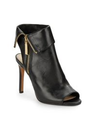 Vince Camuto | Black Kelvin Leather Sandals | Lyst