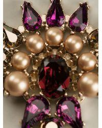 Anton Heunis   Multicolor Crystal Embellished Necklace   Lyst