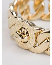 Marc By Marc Jacobs - Metallic 'katie Link' Bracelet - Lyst