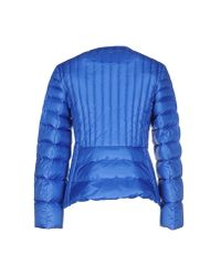 Schumacher - Blue Down Jacket - Lyst