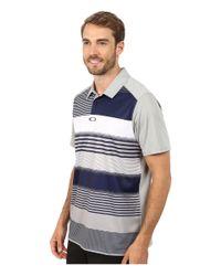 Oakley - Gray Tanner Polo for Men - Lyst