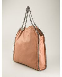 Stella McCartney - Brown 'Falabella' Shoulder Bag - Lyst