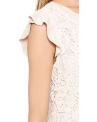 Ella Moss | White Jaimie Lace Dress | Lyst