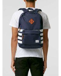 Herschel Supply Co. - Blue Navy Stripe Backpack for Men - Lyst