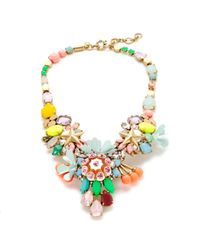 J.Crew | Multicolor Midsummer Statement Necklace | Lyst