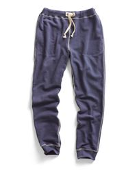 Todd Snyder | Warm Up Sweatpants In Mast Blue for Men | Lyst