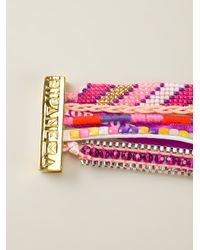 Hipanema - Multicolor Fluo Purple Bracelet - Lyst