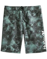 Hurley - Green Force Core 3 Board Shorts for Men - Lyst