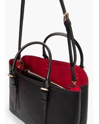 Mango - Black Adjustable Tote Bag - Lyst