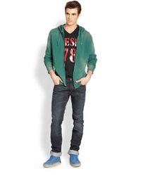 DIESEL | Simonne Hooded Sweatshirt for Men | Lyst