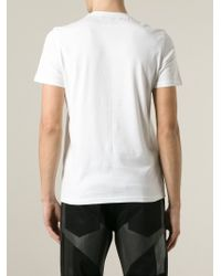 Givenchy - White War Of Love T-Shirt for Men - Lyst