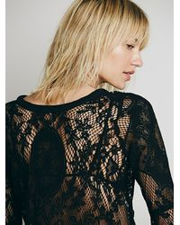 Free People - Black Fp X Tartlet Tunic - Lyst