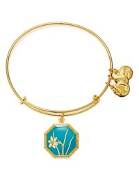 ALEX AND ANI - Metallic Truth And Honor Narcissus Expandable Wire Bangle - Lyst