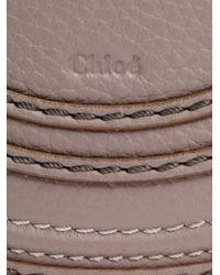 Chloé | Gray Mini Marcie Cross Body Bag | Lyst