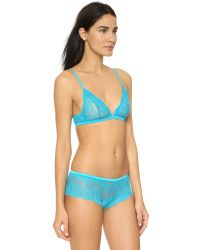 Calvin Klein | Blue Ivy Triangle Bra - Magnetic | Lyst