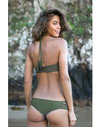 Acacia Swimwear - Green Pikake Bottom - Lyst
