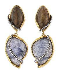 Alexis Bittar | Metallic Winding Vine Clipon Earrings | Lyst
