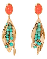 Aurelie Bidermann | Blue Monteroso Clip On Earrings | Lyst