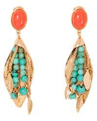 Aurelie Bidermann - Blue Monteroso Clip On Earrings - Lyst