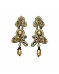 Dori Csengeri | Metallic Intrigued Earrings | Lyst