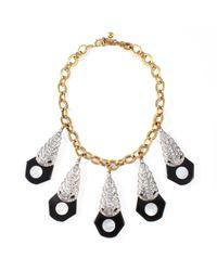 Lulu Frost - Metallic Antigone Necklace - Lyst