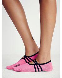 Free People | Black Great Soles Womens Ballet Barret Yoga Sock | Lyst