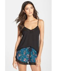Band Of Gypsies | Black Lace Cami | Lyst
