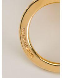 Ann Demeulemeester - Metallic Spiral Ring - Lyst
