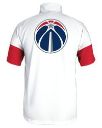 Adidas - White Men's Washington Wizards Game Time Shooting Shirt for Men - Lyst