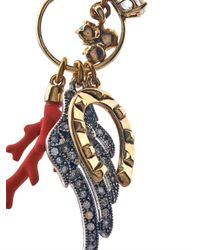Lulu Frost - Metallic Traveller Multi-Charm Earrings - Lyst