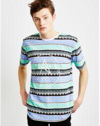 Antioch - Blue Bonkers Circle Logo T-shirt for Men - Lyst