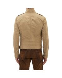Ralph Lauren Black Label - Natural Cruise Bomber Jacket for Men - Lyst