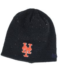 the latest 4f802 e899c ... cheapest lyst ktz womens new york mets glistener knit hat in black  d01be 0eb76 ...