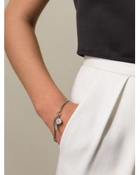 Marc By Marc Jacobs - Metallic Whistle Charm Bracelet - Lyst