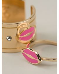 Maria Francesca Pepe - Pink Lip Rings - Lyst