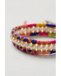 Anthropologie - Multicolor Wonders Bracelet - Lyst