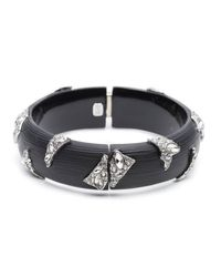 Alexis Bittar - Black Fragmented Hinge Bracelet You Might Also Like - Lyst