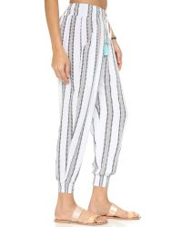 Cool Change - Gray Gypset Stripe Pants - Lyst