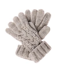 BOSS Orange - Gray Gloves: 'gosanne 1' In Knitwear - Lyst