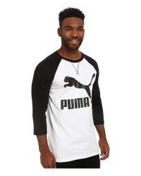 PUMA | Black Extra Long Raglan for Men | Lyst