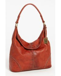Frye | Red 'campus' Leather Hobo | Lyst
