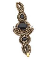 Aerin Erickson Beamon - Black Triple Gemstone Bracelet - Lyst