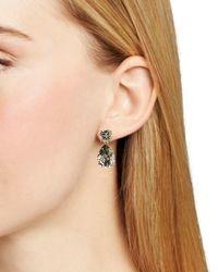 Kate Spade | Black Fancy That Drop Earrings | Lyst