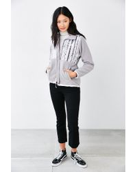 The North Face - White Fleece Jacket - Lyst